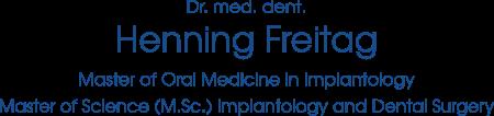 Dr. Henning Freitag